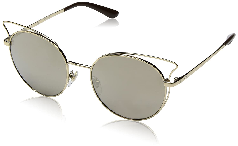 VOGUE Casual Chic Gafas de sol, Pale Gold, 52 para Mujer ...