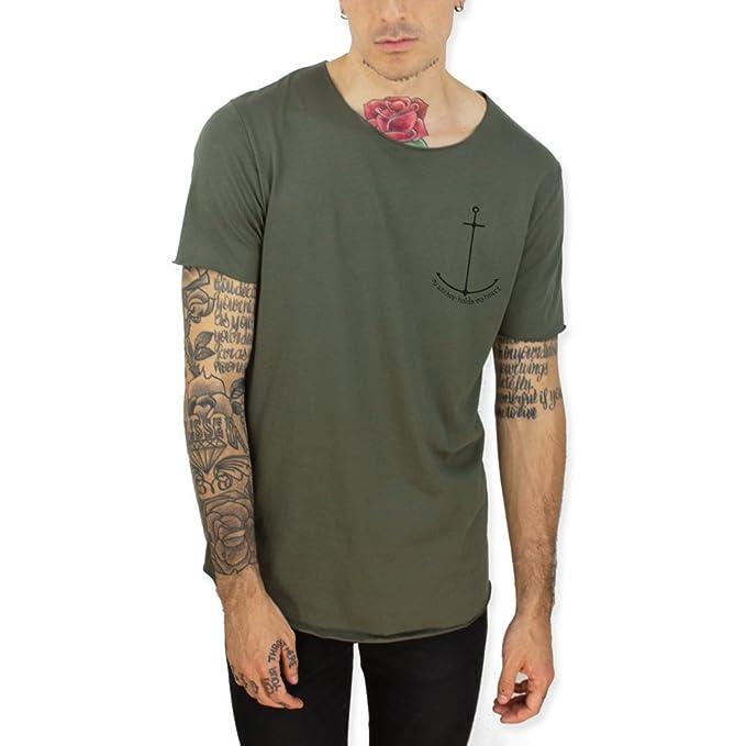 VIENTO Laser The Poet Camiseta Larga para Hombre adnyjD