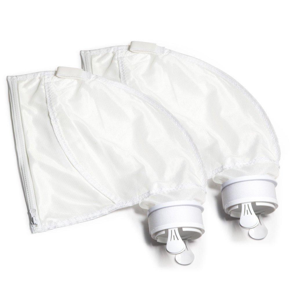 Aquatix Pro Premium 2pc Compatible Zipper Replacement Bags for Polaris 280 & 480, Heavy Duty Pool Vacuum Cleaner/Filter Parts, Easy to Install Leaf Bags, Damage Free Enclosure, Full Warranty by Aquatix Pro