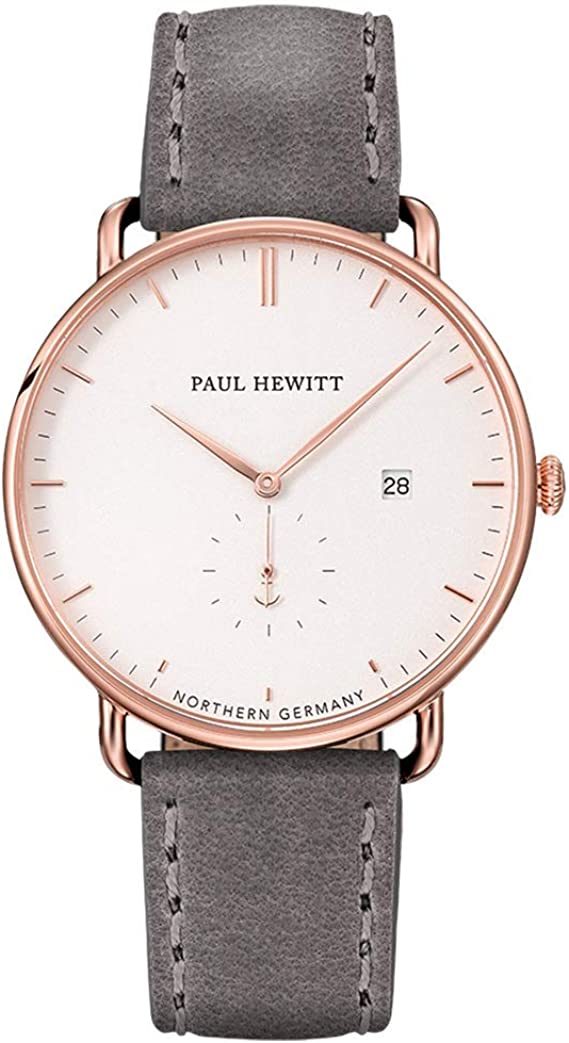 PAUL HEWITT Armbanduhr Grand Atlantic Line White Sand