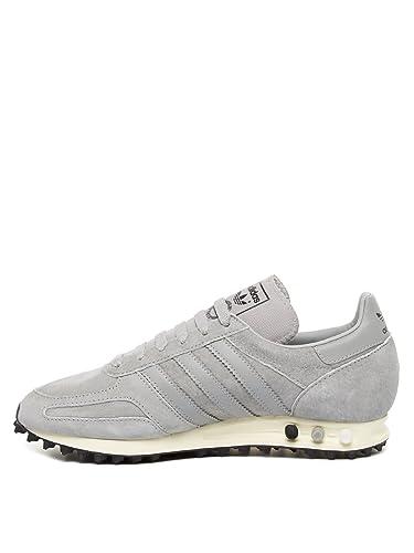 adidas trainer grigie pelle