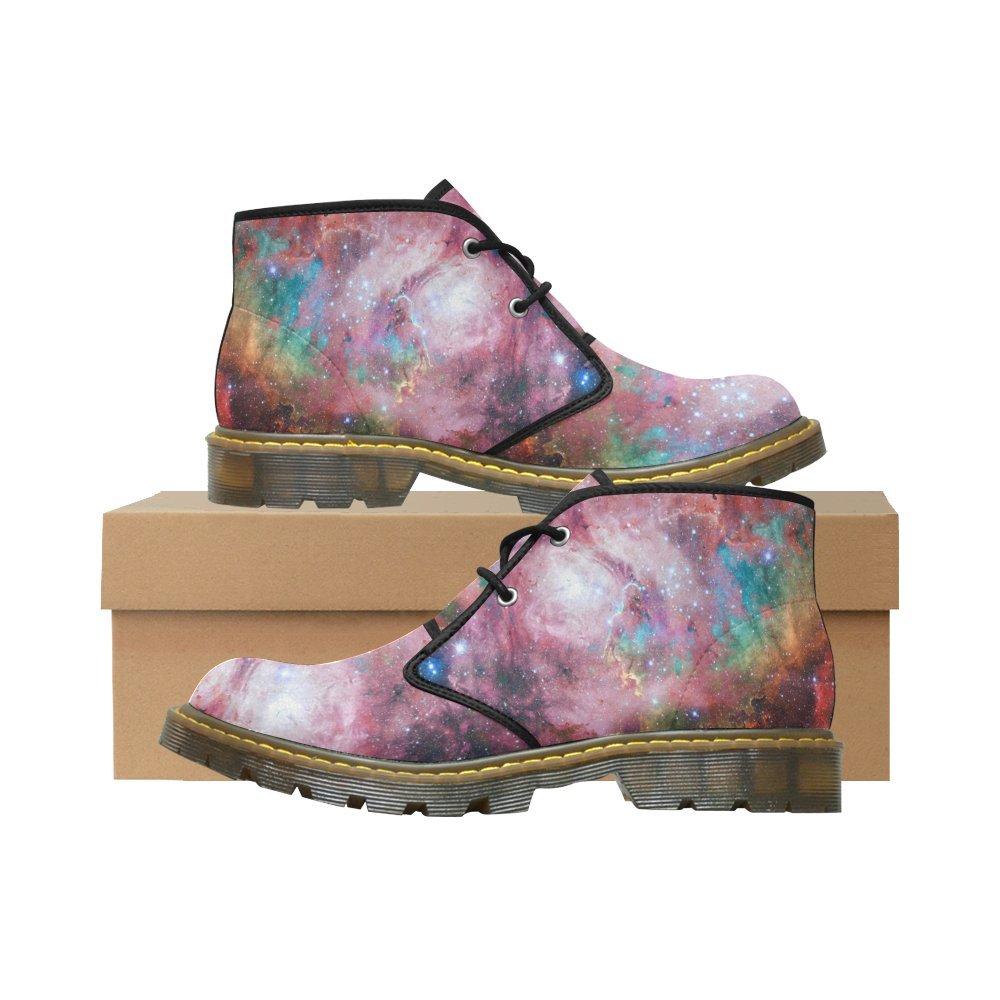 Artsadd Unique Debora Custom Women's Nubuck Chukka Boots Ankle Short Booties B0795P9RX4 7 B(M) US|Multicolored8
