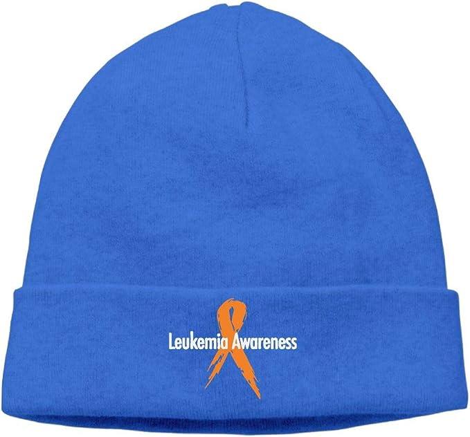Cgi03T-2 Warm Knitting Hat for Unisex I Wear Orange Leukemia Cancer Awareness Ski Cap