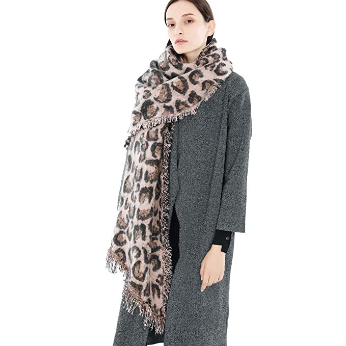 BZLine Mode Frauen Frauen Farbblock Schal Wrap Open Front