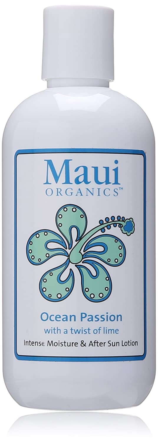 Maui Organics Intense Moisture and After Sun Lotion, Big Island Vanilla, 8.5 Ounce SFR Products 098102591342