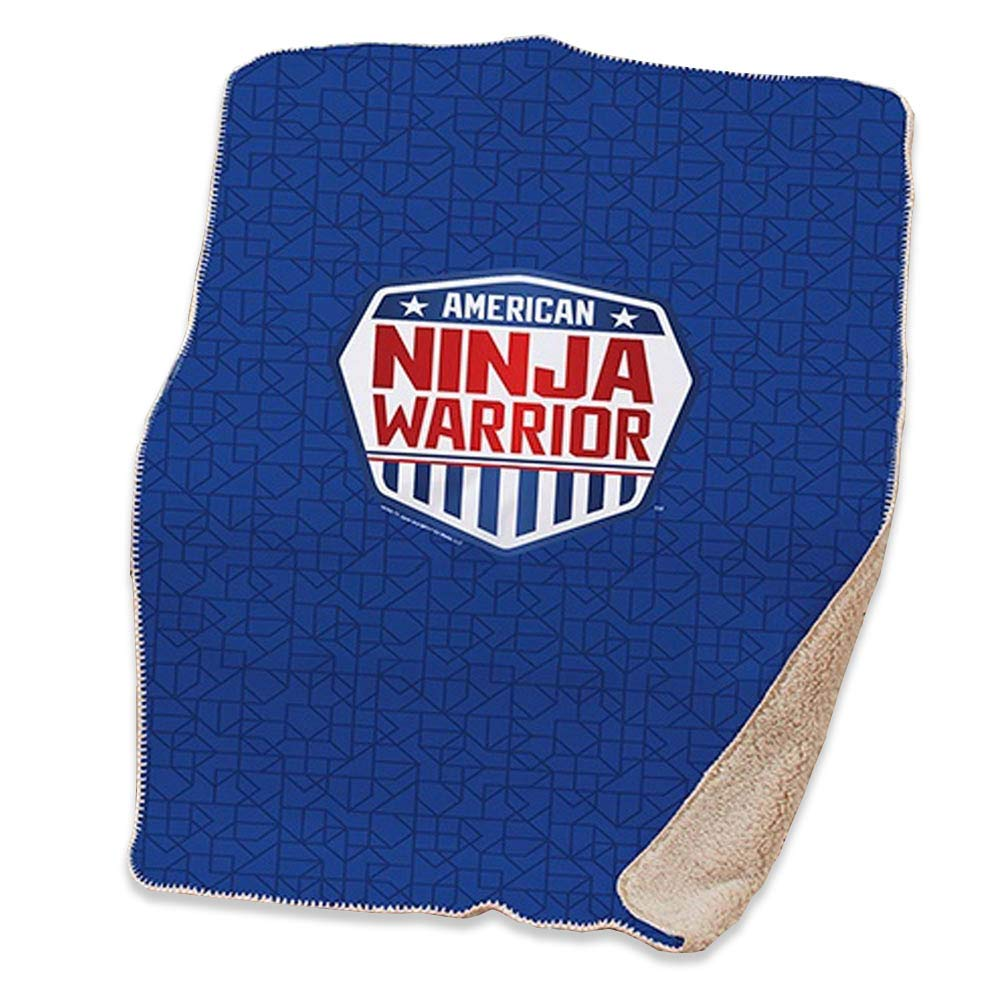Amazon.com: American Ninja Warrior Sherpa Blanket - 37