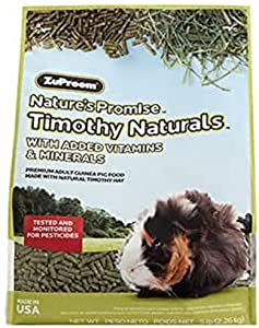 Zupreem Nature's Promise Guinea Pig Pellets Food For Pets, 5-Pound