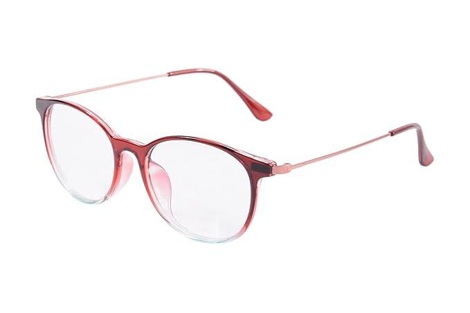 Amazon.com: SHINU Marco Redondo Anti-Glare anteojos de ...