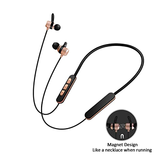 2 opinioni per cuffie auricolare senza fili ,auricolare bluetooth stereo,magnetico, collana