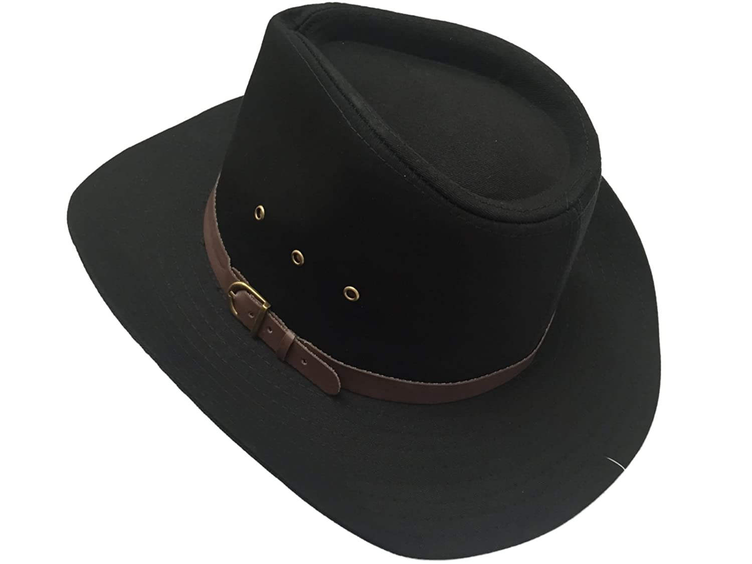 Mens Wide Brim Stetson Cowboy Hat Black or Natural