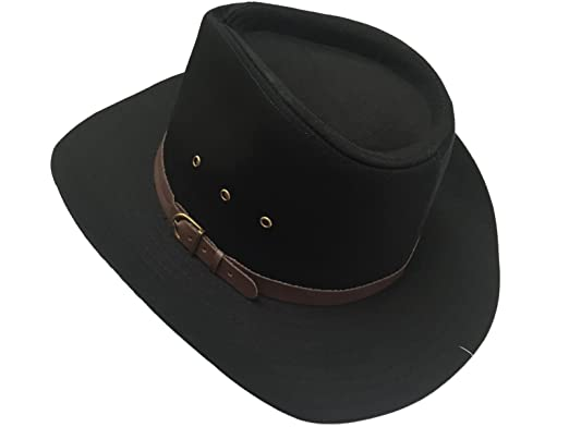 Wide Brim Stetson Style Cotton Cowboy Hat   Available in Small ... 62ff67ecace