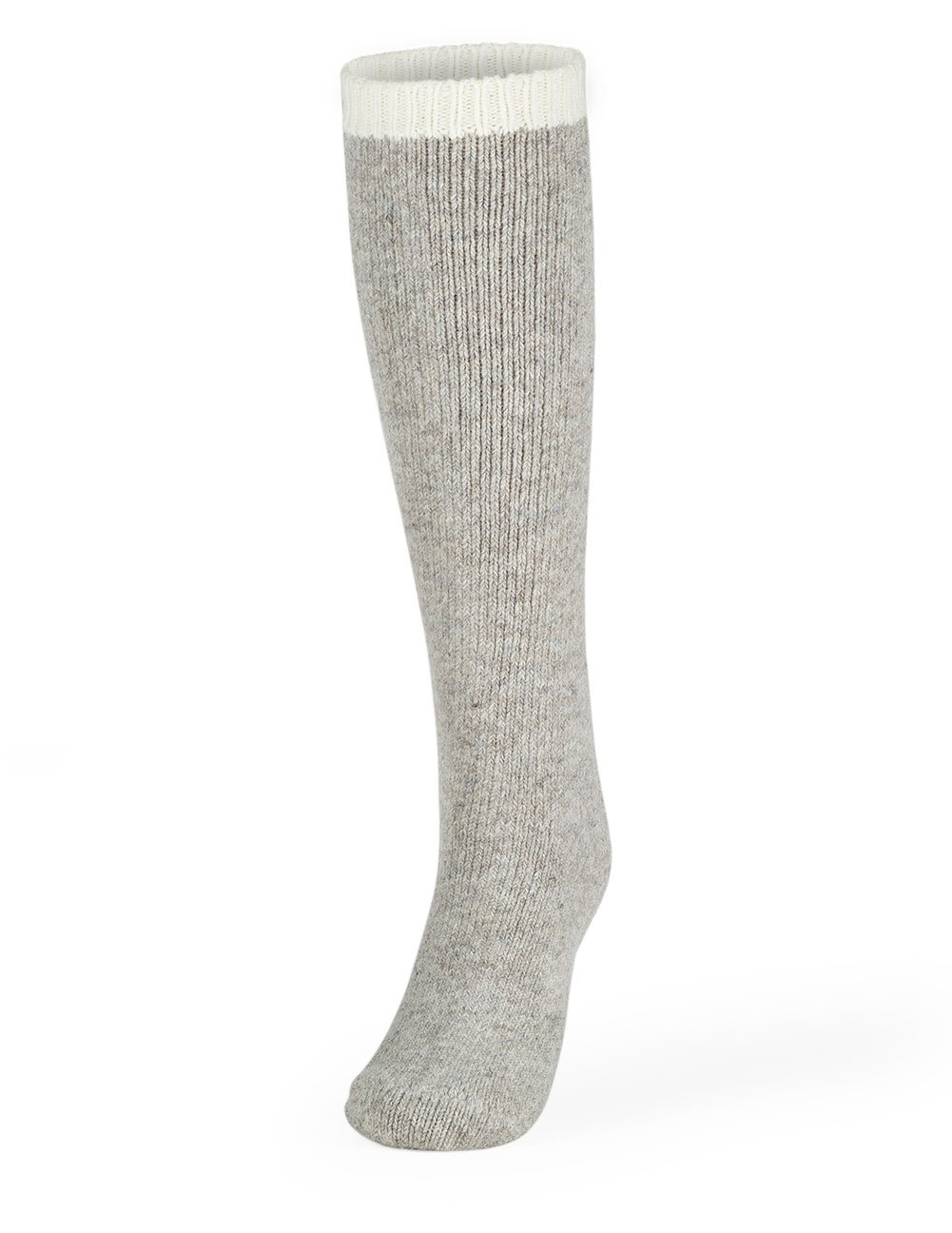 Women's Thermal Wool Socks Style 1145OTC: Gray Knee High, Size 9-11 Cleverbrand