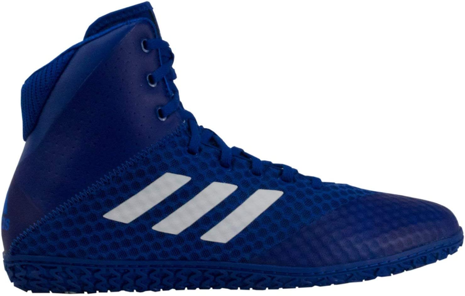 adidas Mat Wizard 4 Royal White Wrestling Shoes (AC6973): Amazon ...