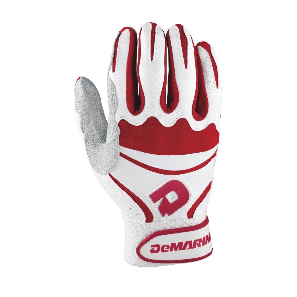 DeMarini大人用Insaneバッティング手袋 B00LN575JK 3L|レッド レッド 3L