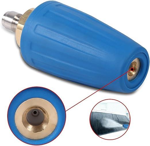 035 Haofy 1//10,2 cm Quick Connect Haute Pression Rondelle Accessoire de Nettoyage pour Vaporisateur Rotatif Turbo Buse 3000psi
