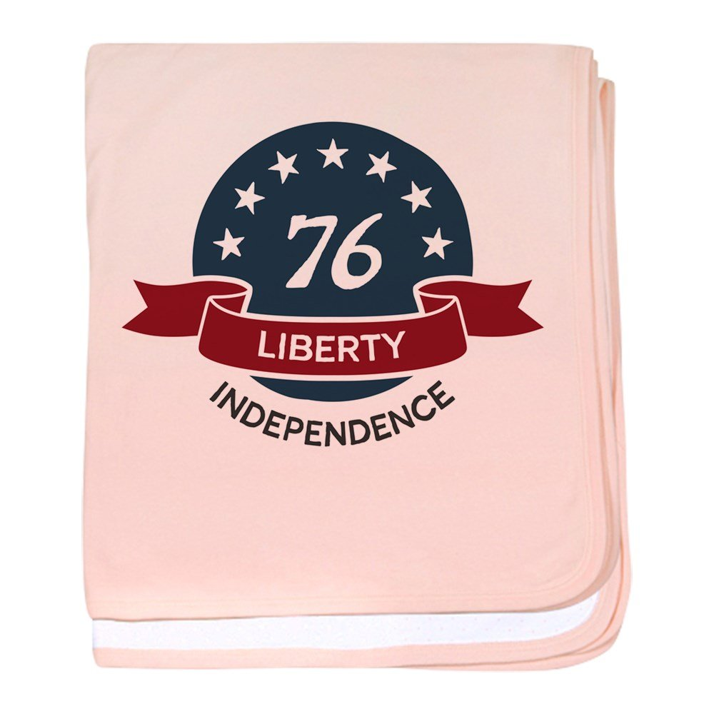 Truly Teague Baby Blanket Vintage America Blue Circle 76 - Petal Pink