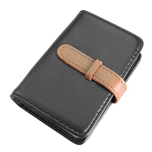 ... tan Source · kilofly Juego de estilo retro business Card Holder Dual  Color 3c5242f30cda4