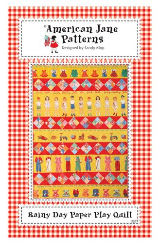 Rainy Day Paper Play Quilt Pattern by American Jane