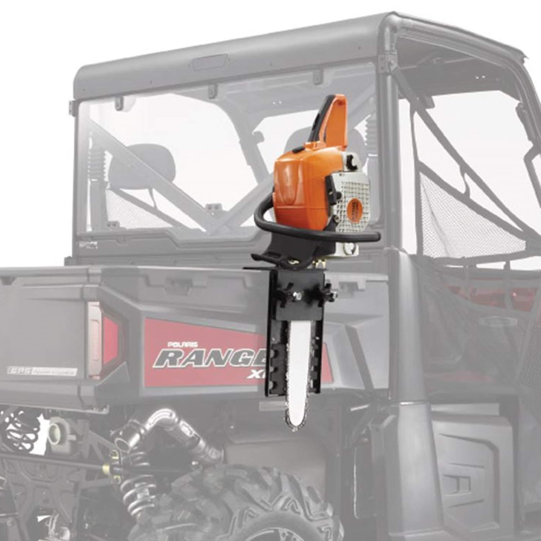 Polaris New OEM Ranger Lock & Ride Chainsaw Mount Carrying Bracket Sawpress by Polaris