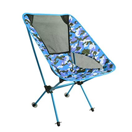 OOFAY Silla Plegable Camping Camo Alloy Outdoor Fishing Beach Mesas De Playa Y Sillas Portátiles,