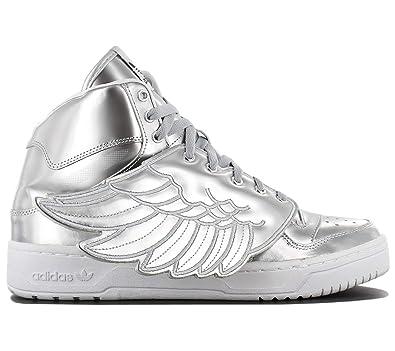 cheap for discount fbf2e a6437 adidas JS Wings Metal S77798 Herren Schuhe Silber - Grösse ...