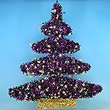 "24"" Mardi Gras Tree Wreath"