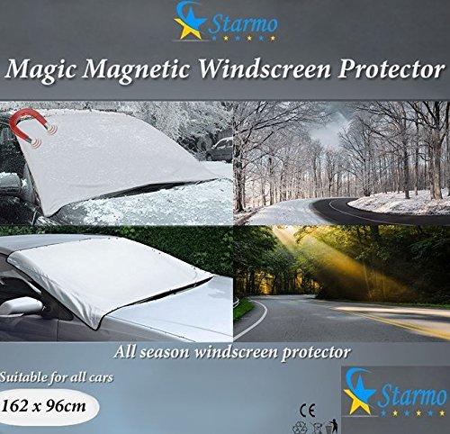 14 opinioni per Starmo, 2 teli magnetici per parabrezza auto, protegge da sole, ghiaccio, gelo e