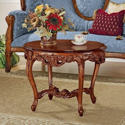 Design Toscano Chateau Montfort Louis XV Cocktail (Louis Xv Antique Furniture)