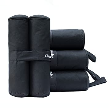 Ohuhu Canopy Weight Bags for Instant Legs Canopy Weights Sand Bags Outdoor Sun Shelter 4  sc 1 st  Amazon.com : weights for tent legs - memphite.com