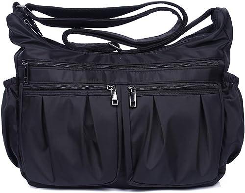 Leather Handbags Designer Large Capacity Plaid Shoulder Wild Crossbody