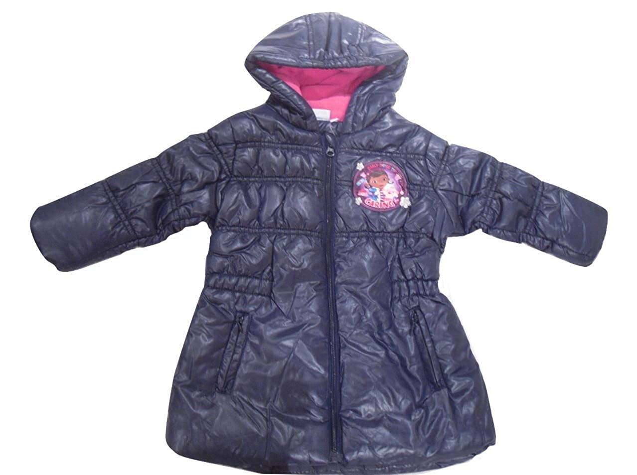 Girls Coats Disney Doc Mcstuffins 2-6 Years Old
