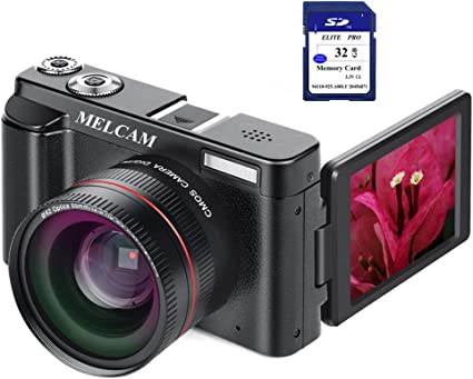 Amazon.com: Videocámara Digital Full HD 1080P 24,0MP Cámara ...