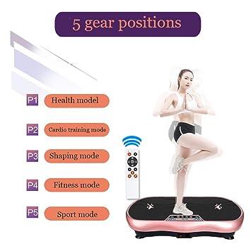 KOSHSH Silencio Plataforma Vibratoria Máquina Gimnasia Fitness ...