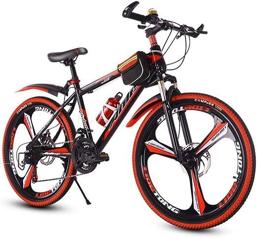 Dsrgwe Bicicleta de Montaña, Bicicleta de montaña, de 26 Pulgadas ...