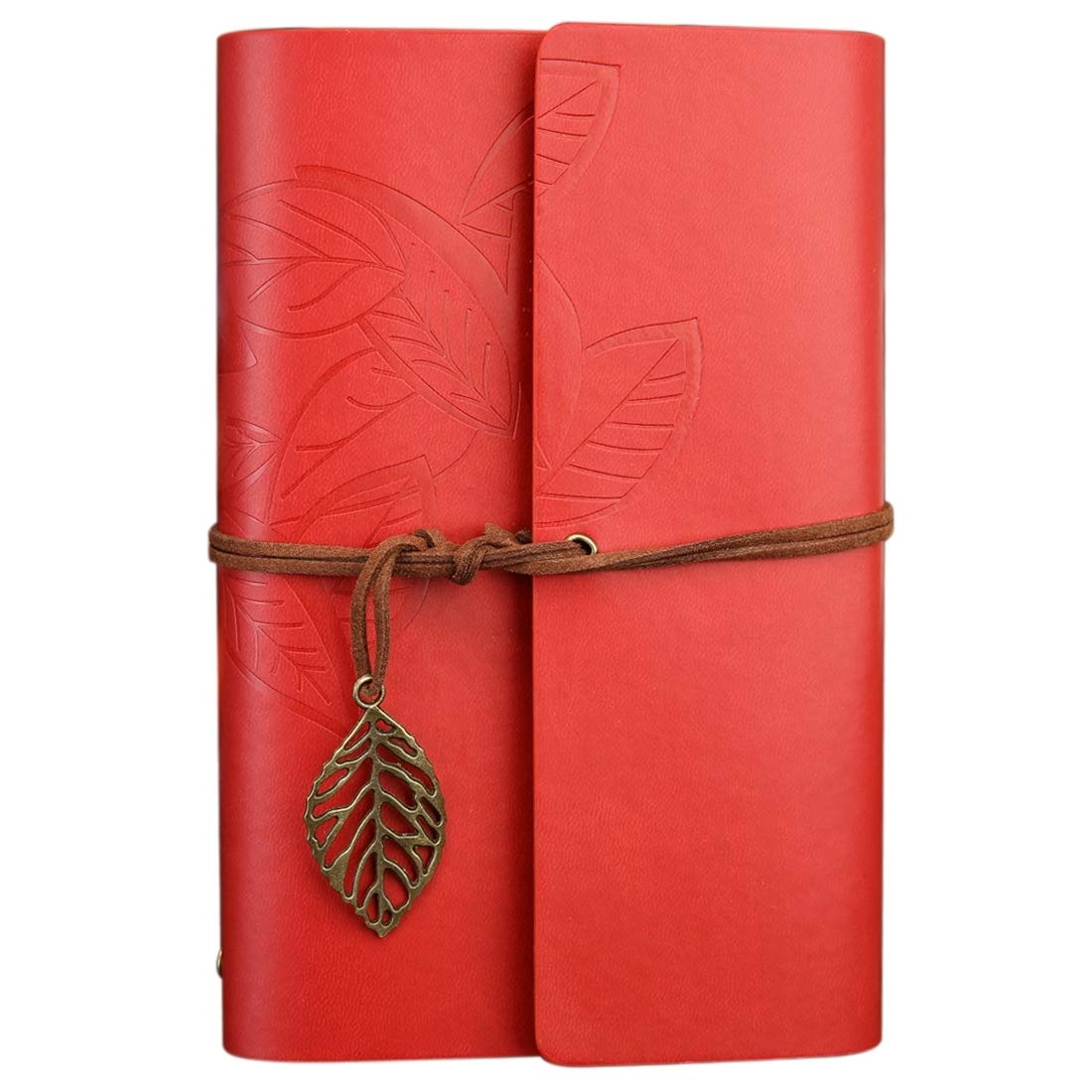 Hermoso Tamaño: S, Creativo de Retro Hojas de Creativo otoño Patrón Hojas Sueltas Cuaderno de Viaje Cuaderno Oficina (Color : Azul) 2198c0