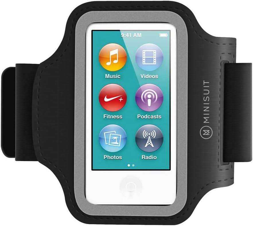 Minisuit SPORTY Neoprene Armband Key Holder for iPod Nano 7 or 8 7th or 8th Gen