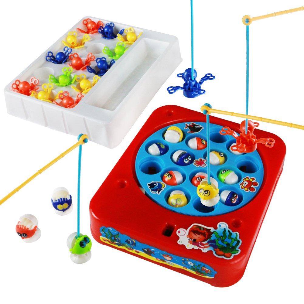 juego de pesca con juguete musical para nios juguetes electrnicos peces y