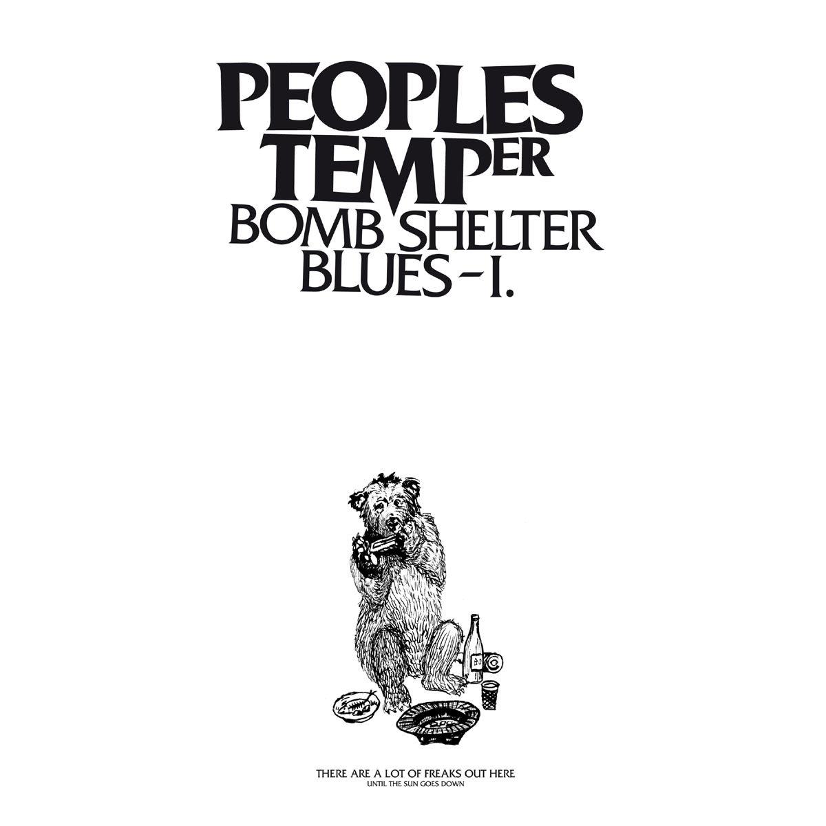 Peoples Temper - Bomb Shelter Blues I (Single 12