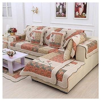 CYDPTZ Cubiertas de sofá Funda de sofá de algodón Sofá ...