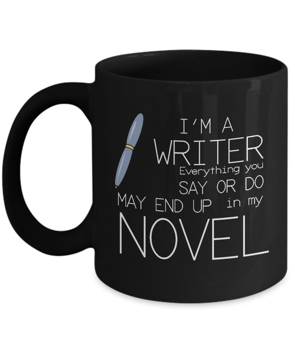 funny mugs for writers