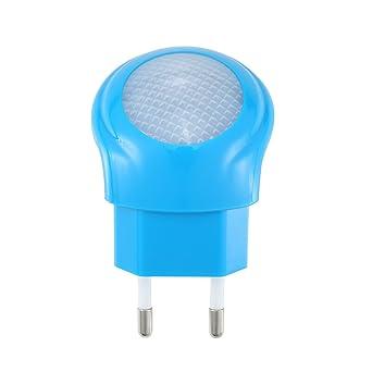 LED-Nachtlicht mit Tag//Nacht-Sensor für Steckdose 0,7W