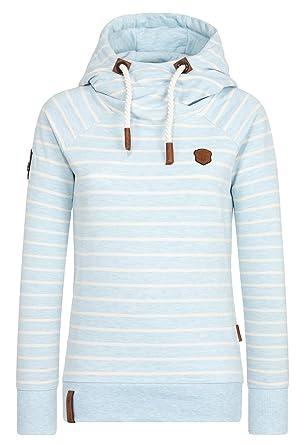 Sweatshirt Rap Magelan blau / weiß Naketano J6PeLl5wNe