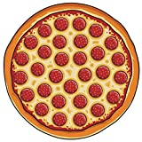 PlayDo Round Shaped Pizza Beach Towel Tapestry Tablecloth offers