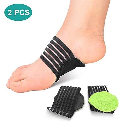 plantillas acolchadas para fascitis plantar. Calcetines soporte para talón y tobillo, plantillas para pies