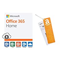 Deals on Microsoft Office 365 Home 12-mo Subscription Digital + $50 GC