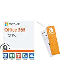 Microsoft Office 365 Home | 12-month subscription PC/Mac Download + $50 Amazon.com Gift Card