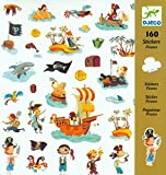Djeco Pirate Stickers (160 pc)