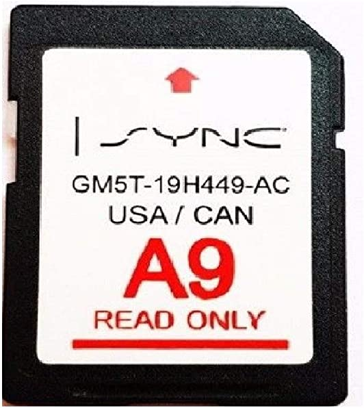 A10 Ford Lincoln Latest Navigation SD Card GPS MAP Update SYNC Updates A9 A8 A7