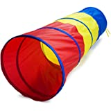 6 Foot Multi-Color Children's Exploration Pop-Up Tunnel by K-Roo Sports
