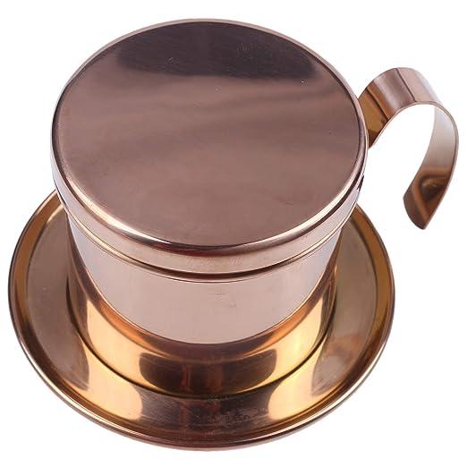 Xigeapg Filtro de Café Vietnamita de Acero Inoxidable Taza ...